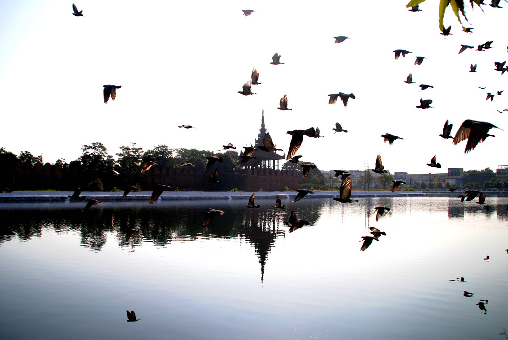 Travel in Mandalay, Myanmar