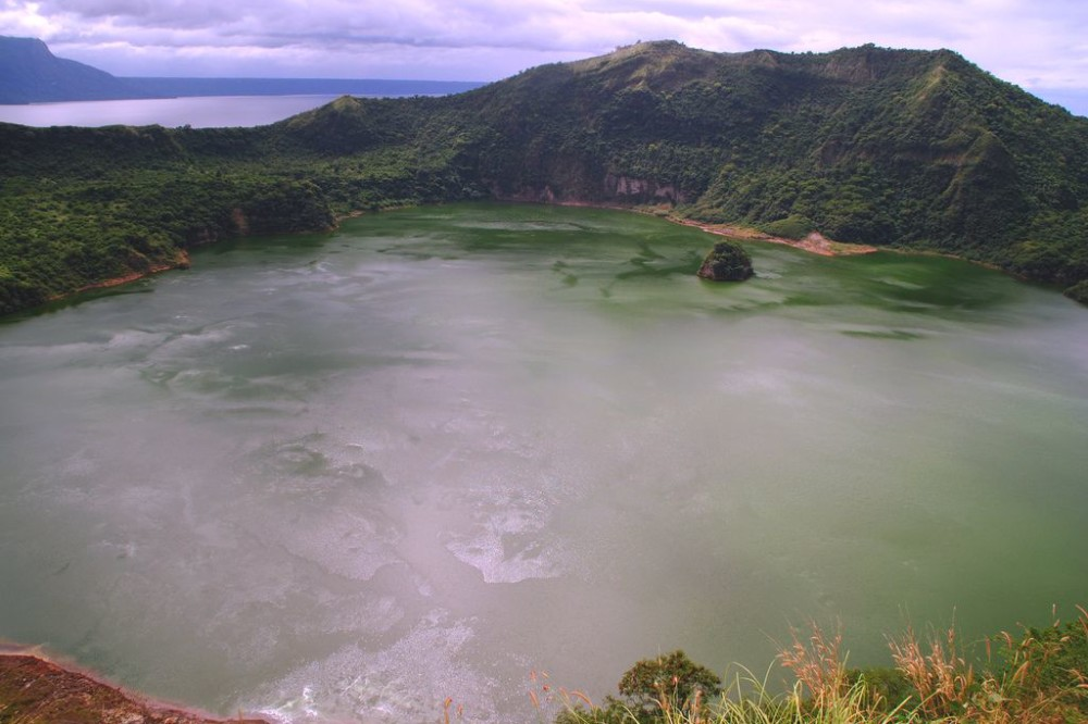 Philippines Taal Volcano