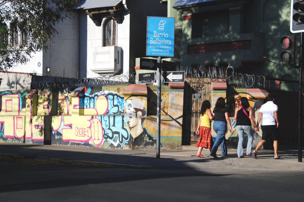Santiago's Bellavista Neighborhood