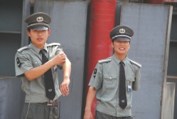 Airport Security in China