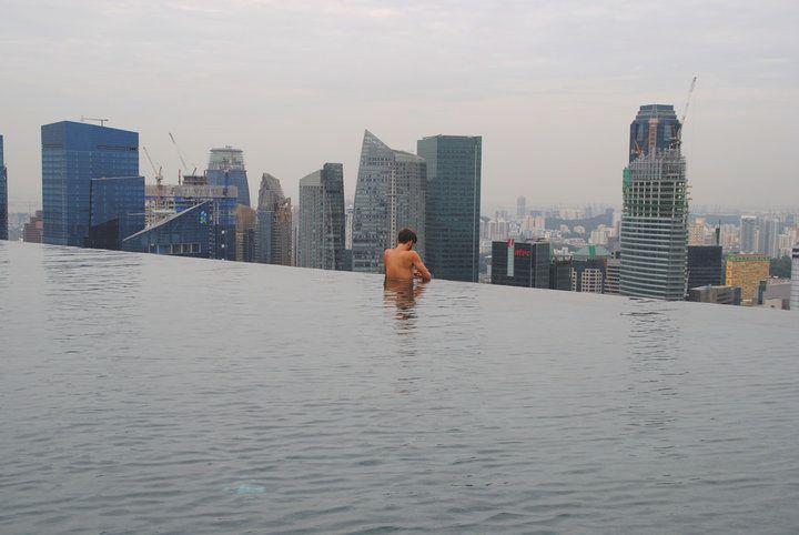 Robert Schrader at the Marina Bay Sands Hotel