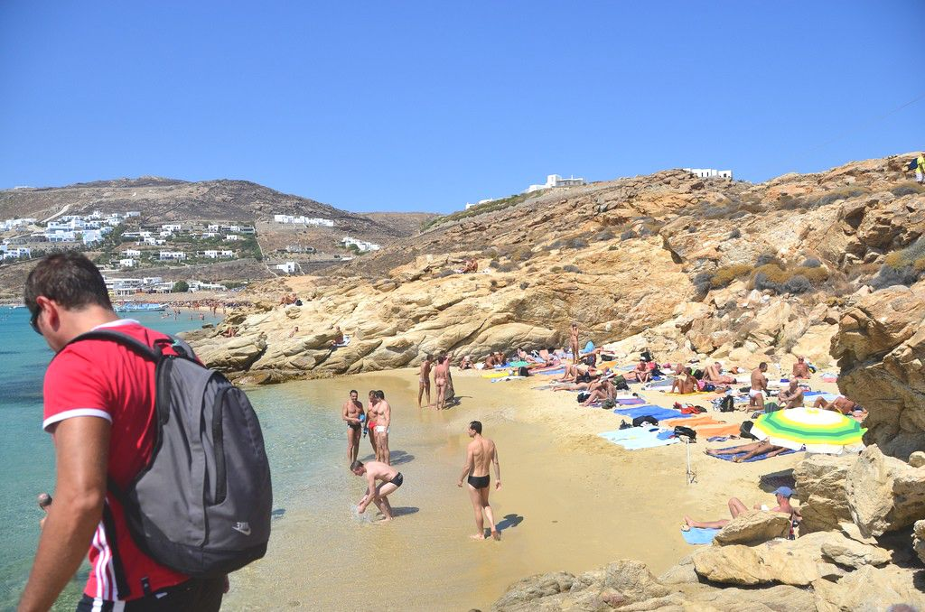 Photo of gay beach in Mykonos, Greece