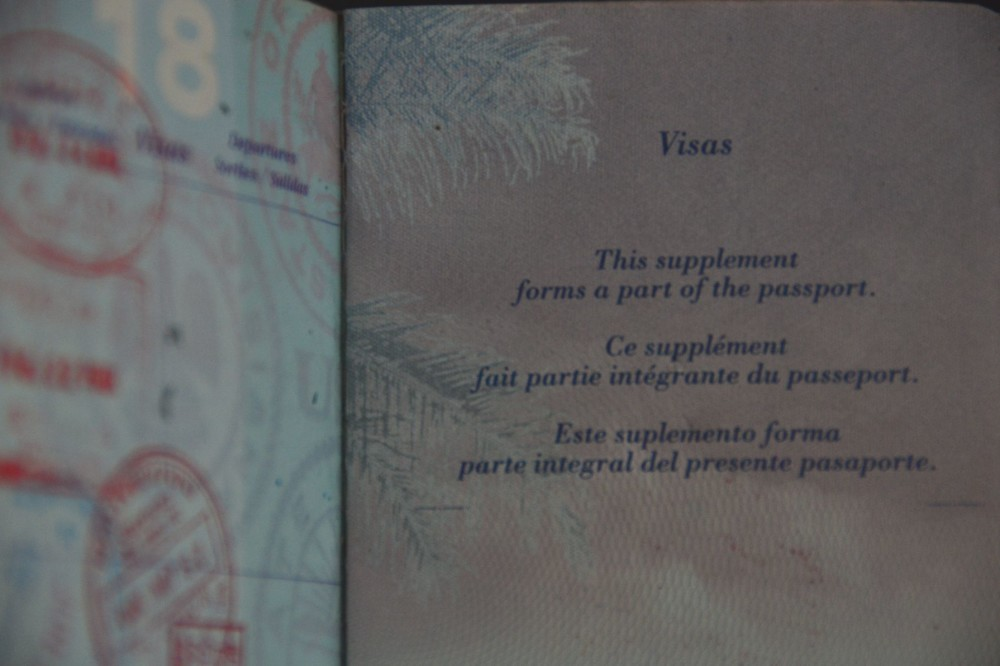 Extra pages in U.S. Passport