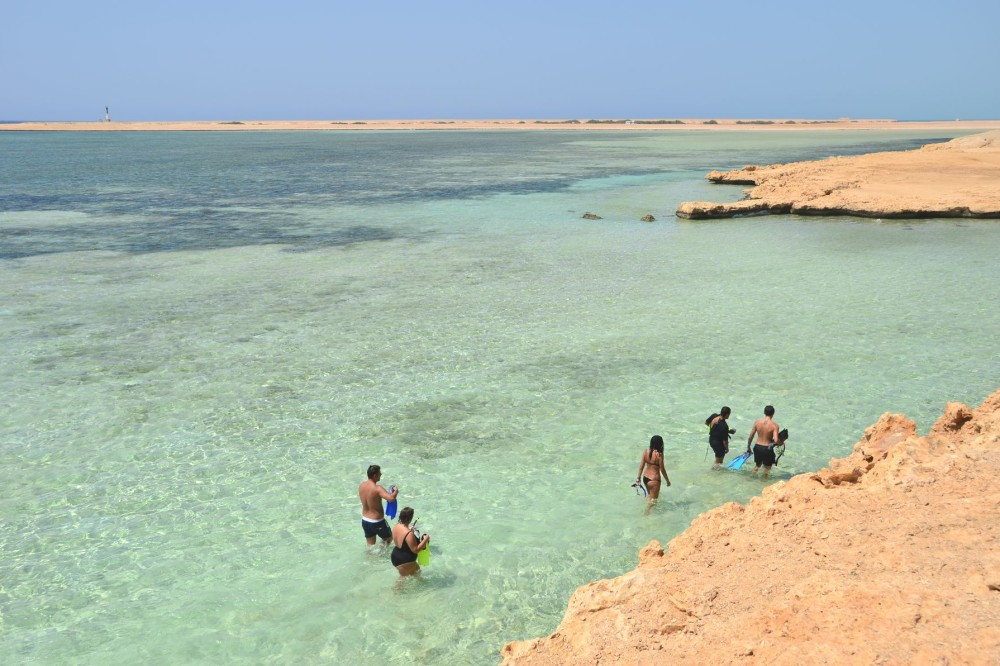 Ras Mohammed National Park in Sinai, Egypt