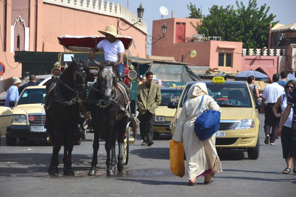 Buses and trains in Morocco