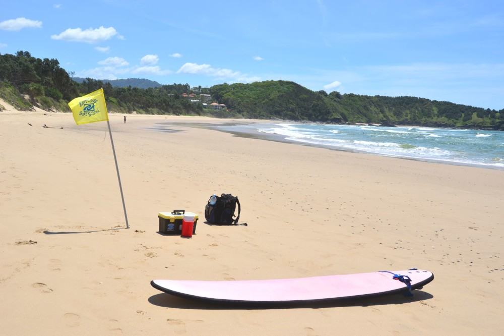 East Surf School in Coffs Harbour, New South Wales, Australia