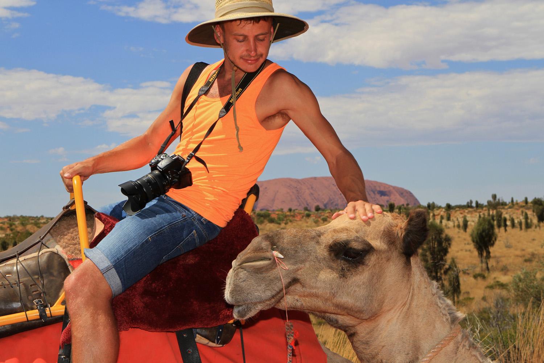 Uluru Camel Tours in Yulara, Australia