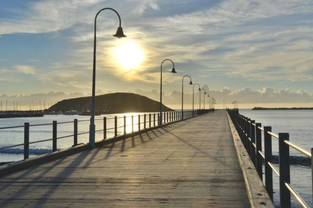 Pier in Coffs Harbour Australia