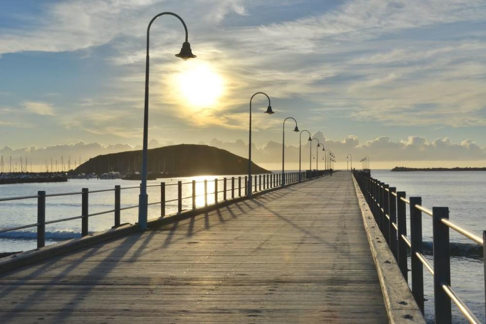 Pier in Coffs Harbour Australia