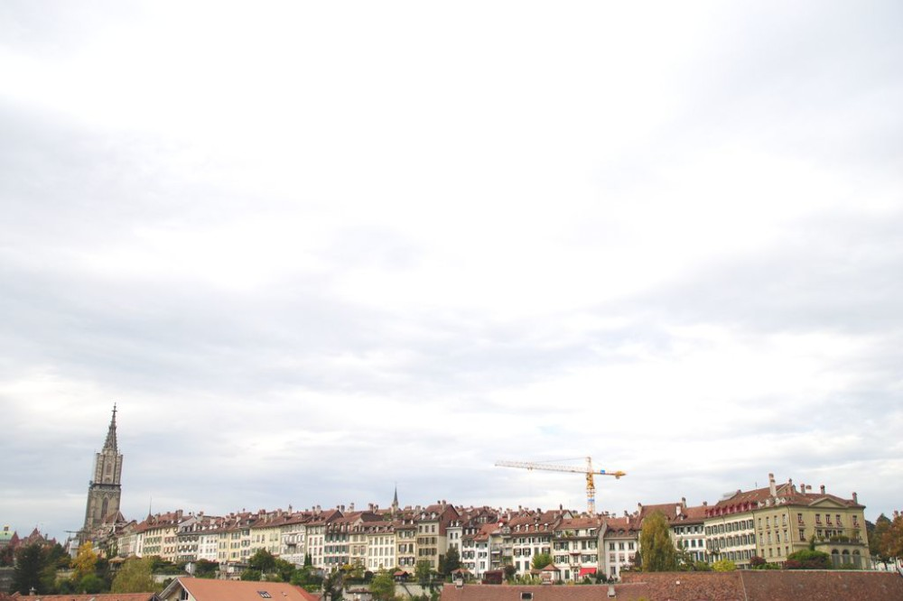 Skyline of Bern Switzerland
