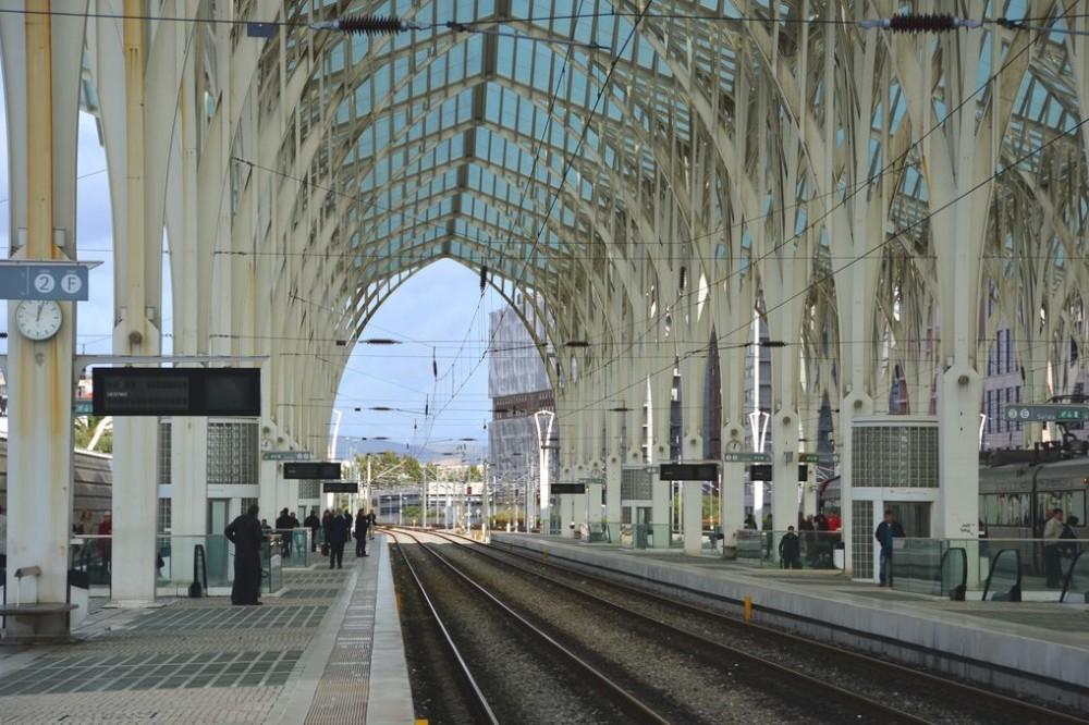 Oriente Station Lisbon