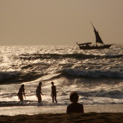 Candolim Goa India Sunset