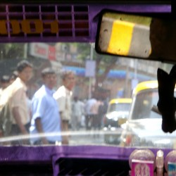 Mumbai India Taxi Cab