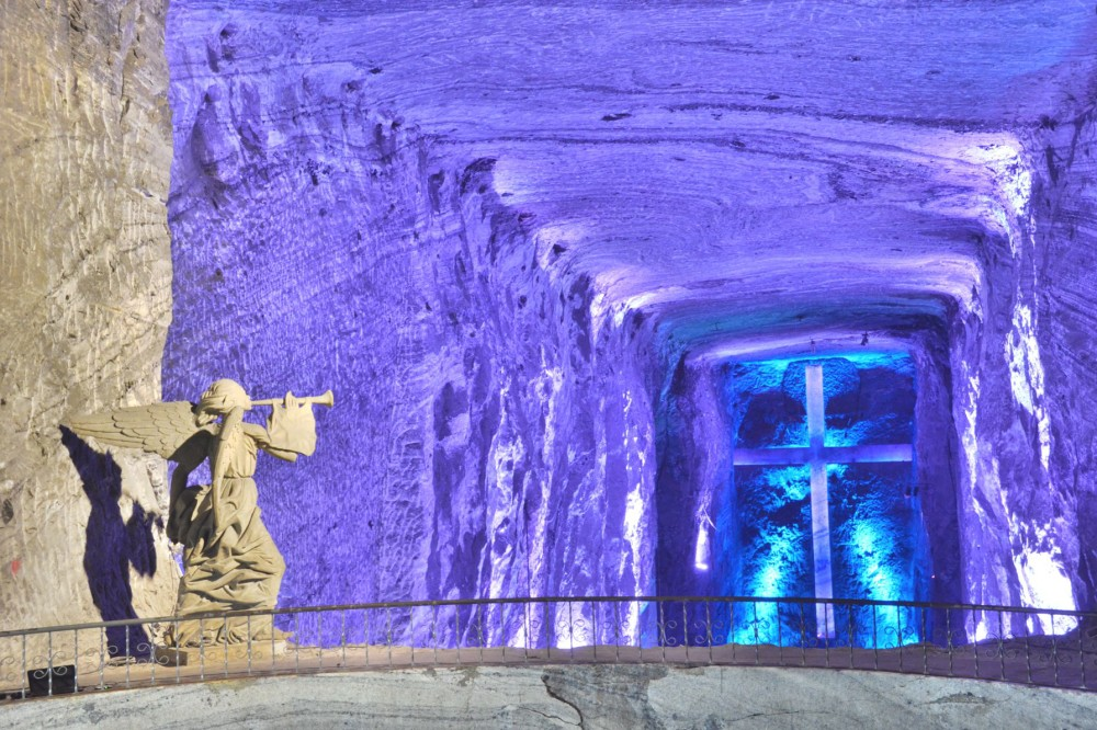 Salt Cathedral in Zipaquirá, Colombia