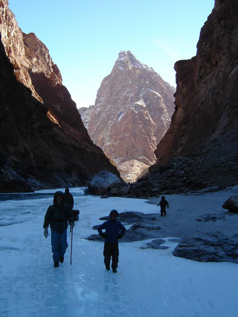 Chadar Trek sheet of ice Indias Awe Inspiring Chadar Trek