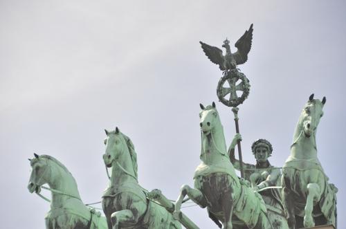Берлинские кони с Брандербургских ворот