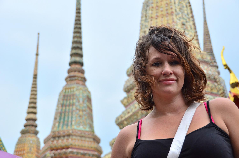 Beautiful girl in Bangkok