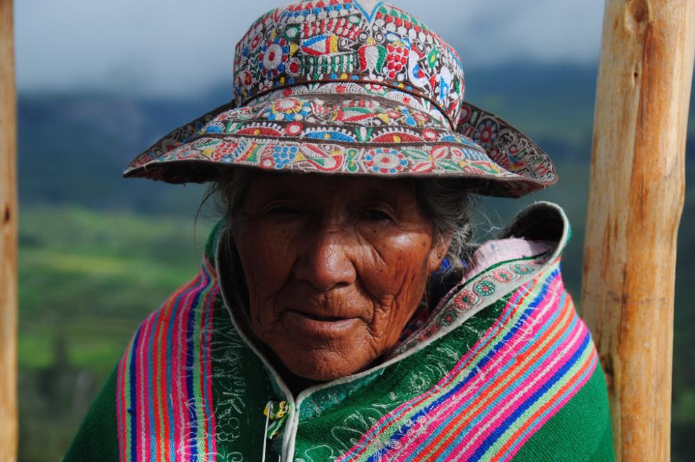 Inca Woman Peru