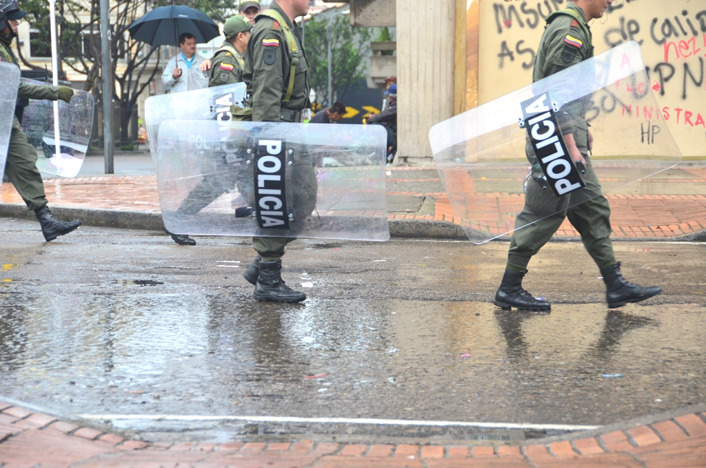 Bogota Colombia Police1 2012 in Review    and a 2013 Preview