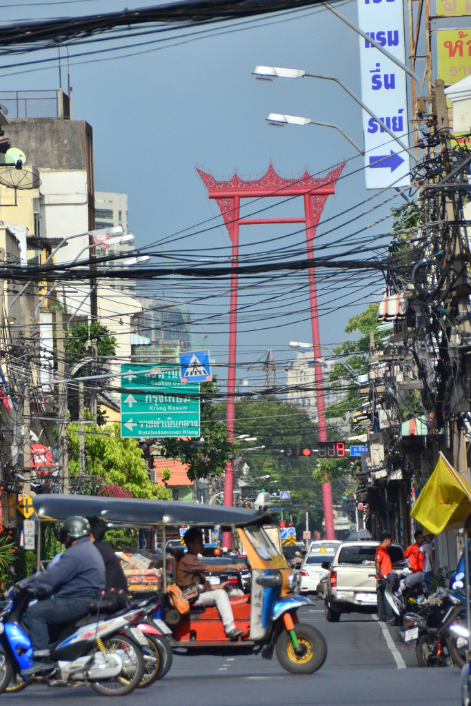 Giant Swing in Bangkok Traffic1 2012 in Review    and a 2013 Preview