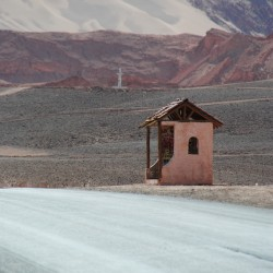 House on Side of Road in San Pedro de Atacama Chile