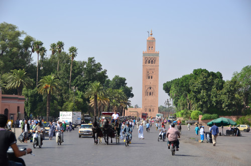 Marrakech Morocco 500x331 The Best of Morocco in 10 Days