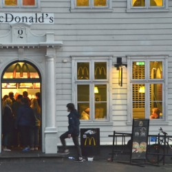 McDonalds in Bergen Norway