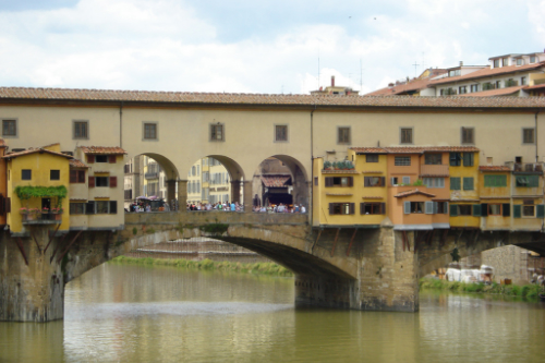 Ponte Vecchio Florence Tuscany, Beyond The Tower