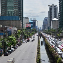 Sathorn Road Traffic