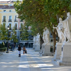 Statues in Madrid Spain