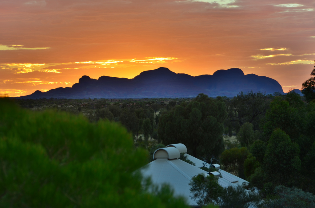 Sunset Over Kata Tjuta Australia1 2012 in Review    and a 2013 Preview