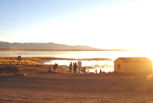 You'll want to take a dip in aguastermales on a cold, Bolivian morning
