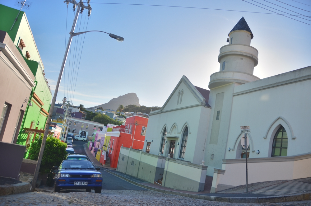 Bo Kaap's varied topography, exotic scenery and colorful paint job give it the impression of being wild
