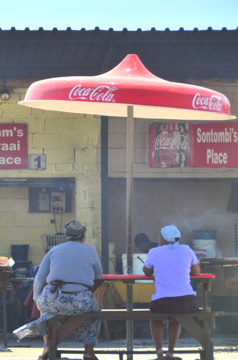 Khayelitsha is home a number of food outlets, although they largely cater to outside visitors and wealthy residents