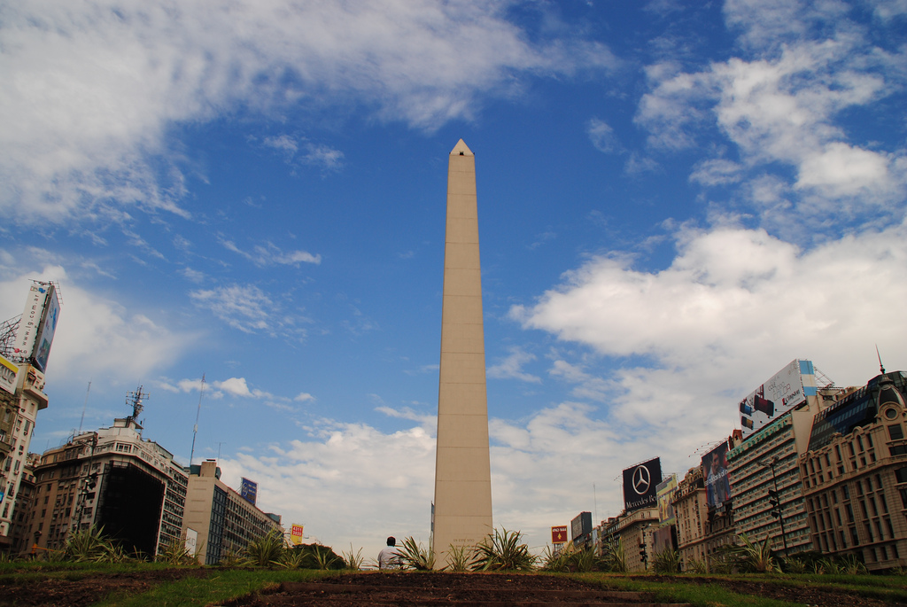 Avenida 9 de Julio in Buenos Aires is the widest road in the world
