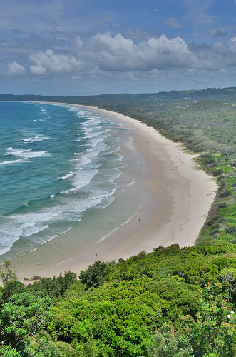 This picture of Tallow Beach in Byron Bay, Australia speaks for itself, no?