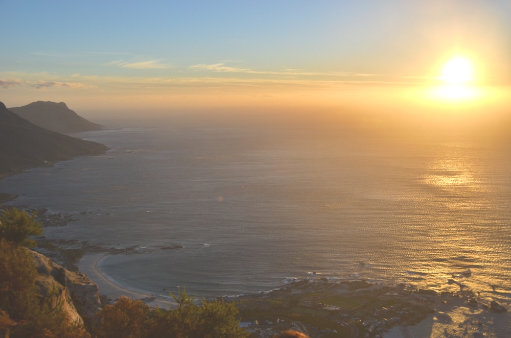 Sunset from the summit of Lion's Head
