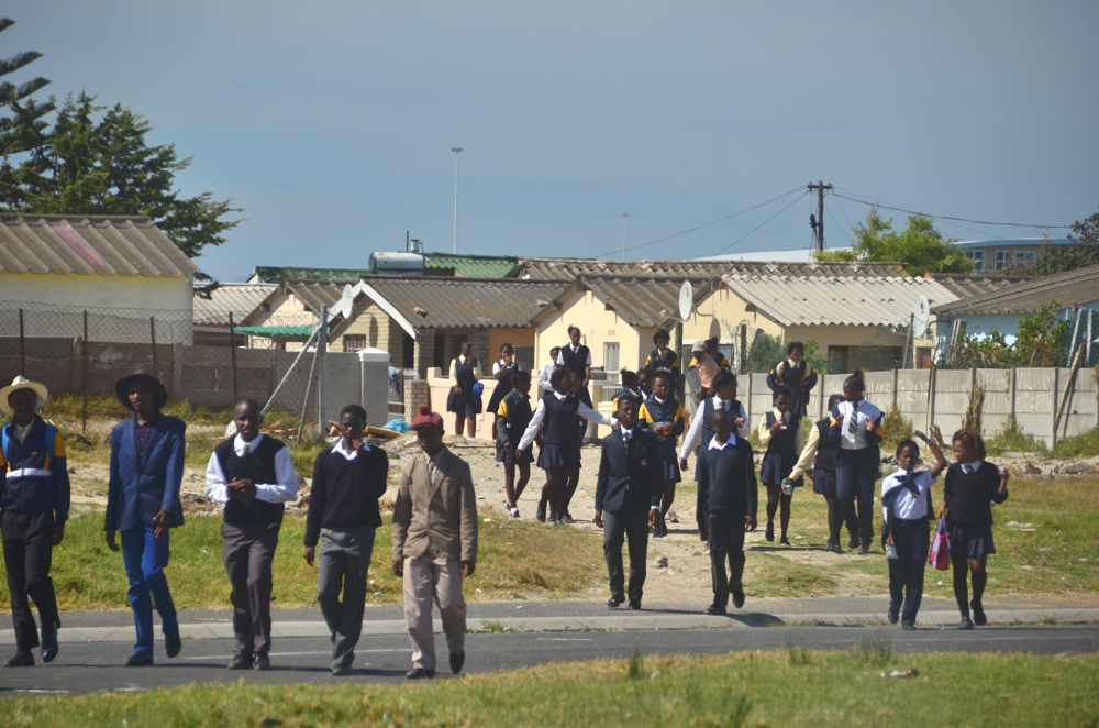 Mzu and others hope Khayelitsha's commitment to education will help raise the city up in the future