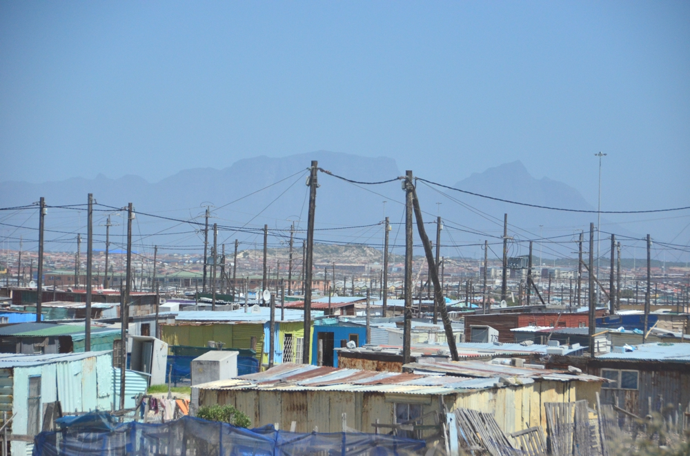 Much of Khayelitsha's electricity is re-distributed