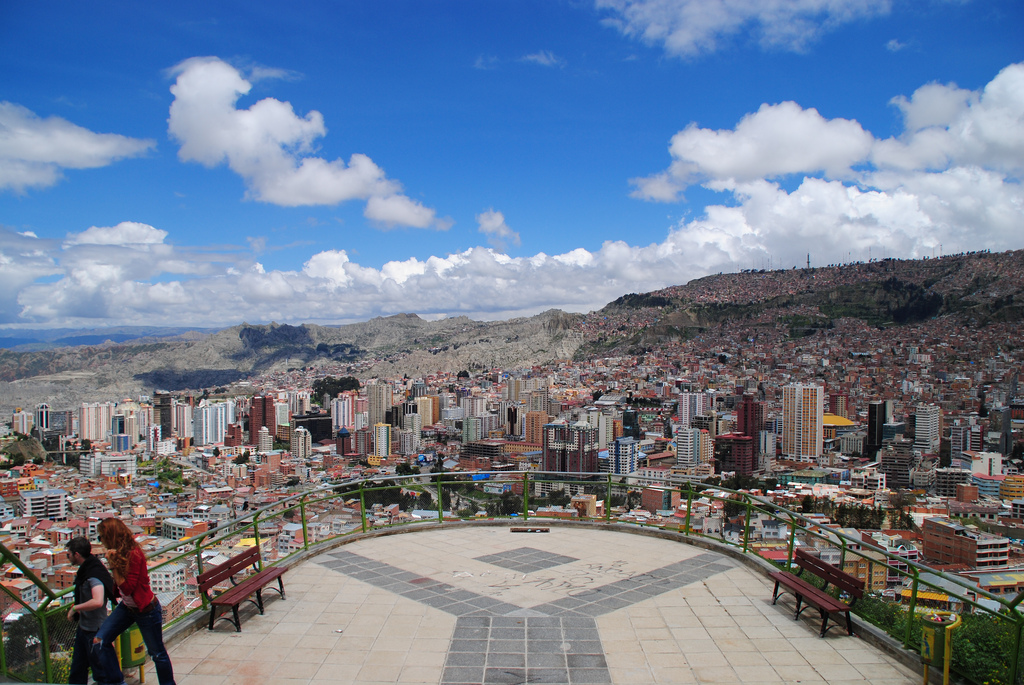 La Paz, Bolivia is the world's highest capital