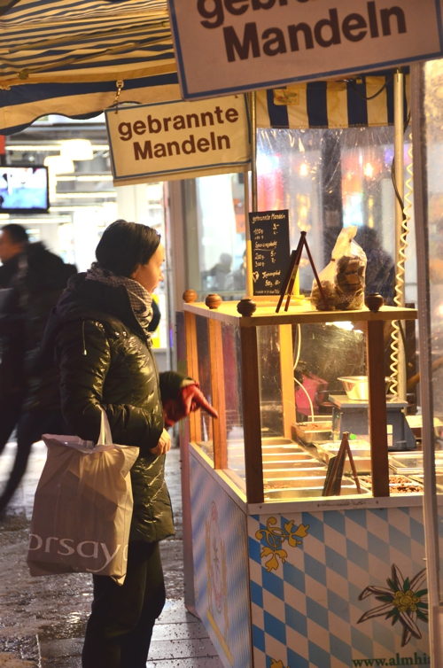 Mandeln, or toasted walnuts, are a delightful winter treat in Germany