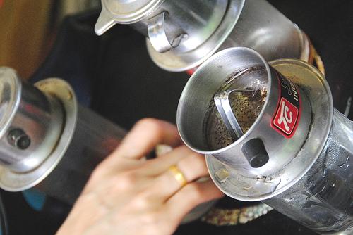 Enjoy a cup of legendary Vietnamese coffee