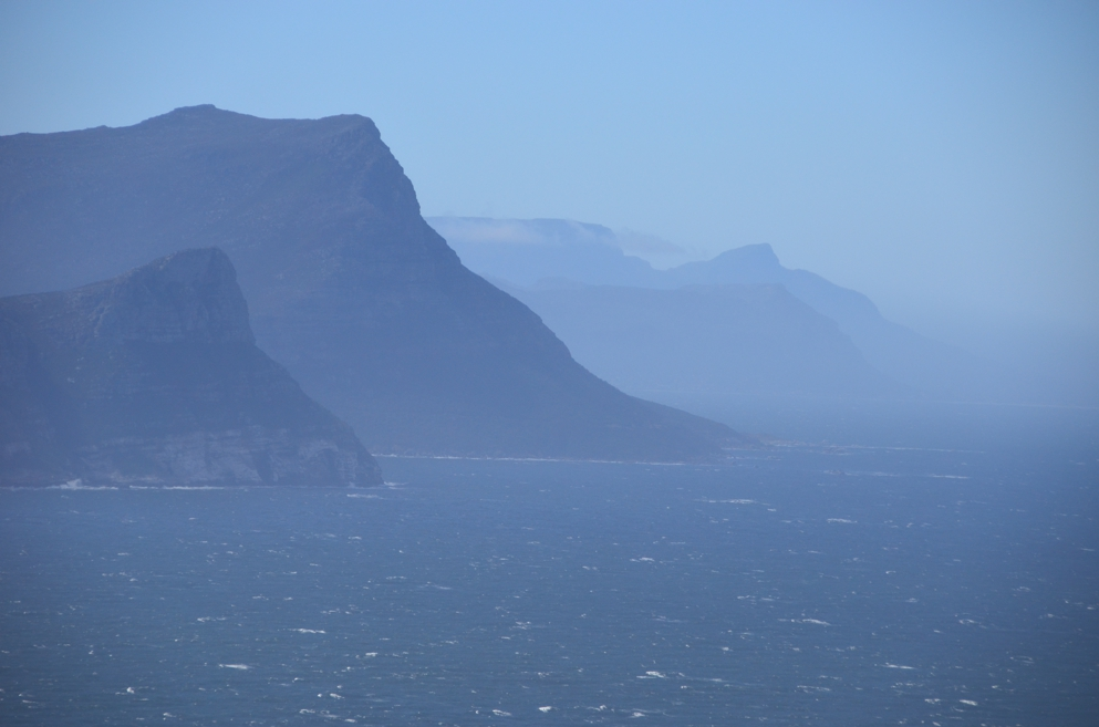 The sheer scale of the Cape Peninsula is overwhelming