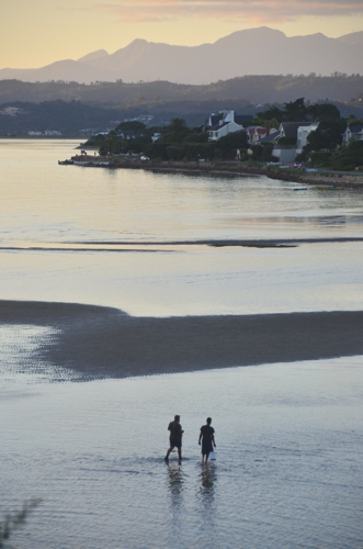 Knysna is beautiful, even if it isn't particularly exciting or even accessible