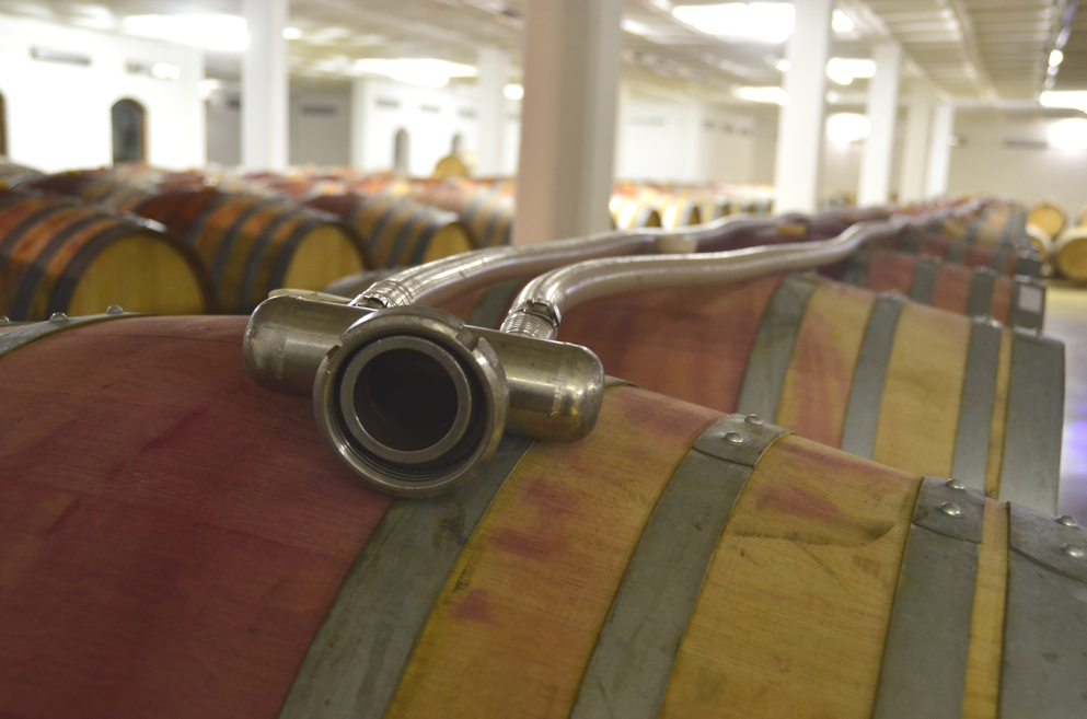South Africa's wine industry is rather high-tech, which makes for less than rustic facilities