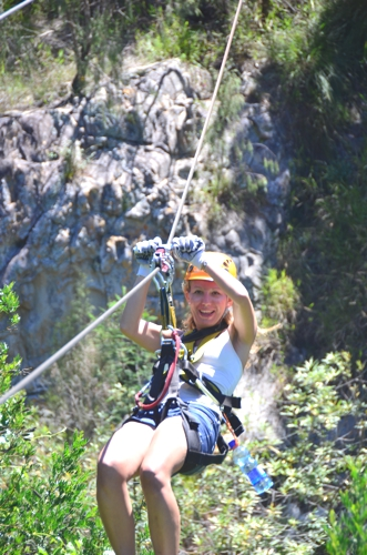 Head to Storms River for all your adventure travel needs, such as zip lining