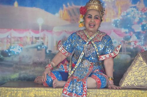 Buddhist Singer in Thailand