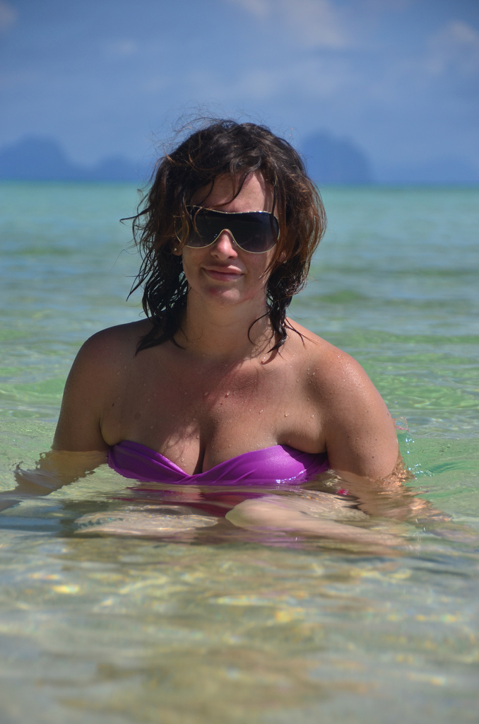Enjoy a relaxing swim in the islands