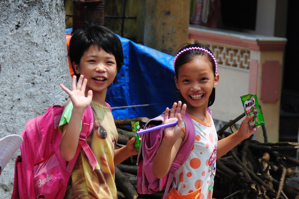 School Girls in Vietnam
