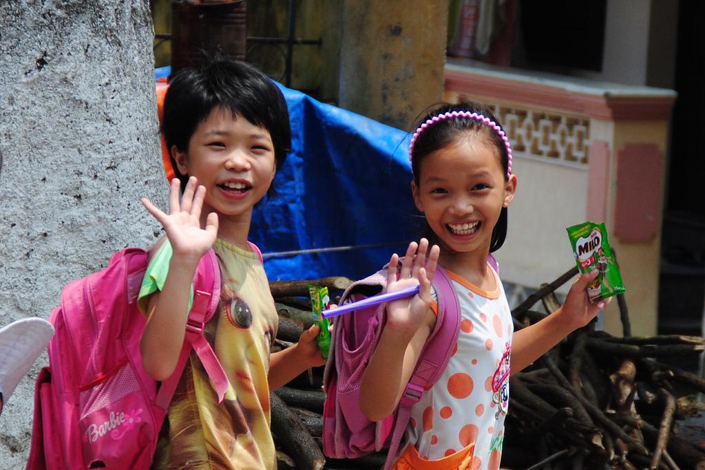 School Girls in Vietnam